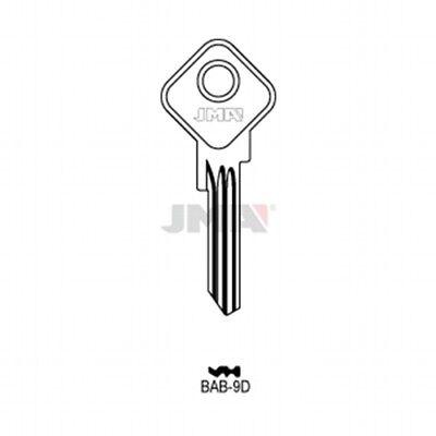 5 X BAB15 SILCA //BAB-8D JMA Schlüsselrohling//Key Blanks
