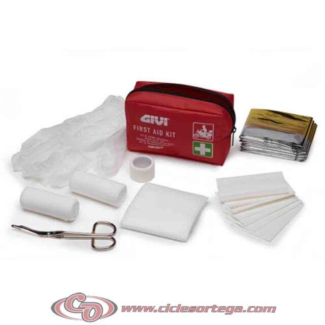 Kit botiquin de primeros auxilios S301 de Givi
