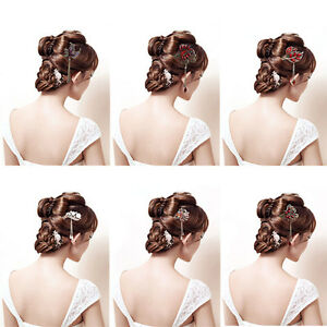 Image is loading Elegant-Women-Colorful-Rhinestone-Bobby-Pin-Hairpin-Hair- be04d793db69
