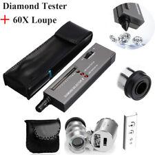 Jeweler Tool Kit High Accuracy for Novice and Expert Diamond Tester II+Jewelers Loupe Magnifying Glass 30X