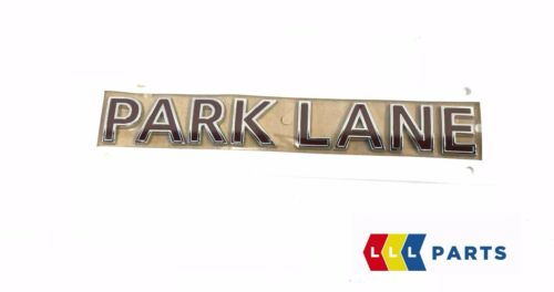 MINI NEW GENUINE COUNTRYMAN R60 EMBLEM BADGE STICKER PARK LANE 9813703