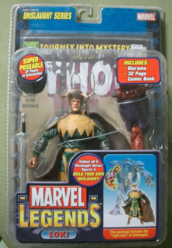 Toy Biz Marvel Legends S 13 Loki Variant RARE MOC NEW