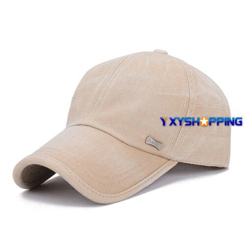 Washed Hat Herren Mütze Cap Kappe Hüte Kadett Militär Soldat Hut Trucker Sport