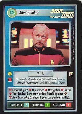 Star Trek CCG DOM Dominion Admiral Riker WB Preview
