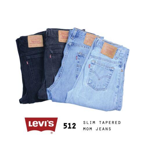 512 Aderenti Levis Vita 27 Jeans Donna In Mamma Vintage Alta 26 Stretti Basso A UHTUxw