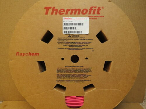 "250 Foot Spool 1//4"" Raychem Thermofit Heat Shrink Tubing Mil Spec MIL-LT-1//4-2"