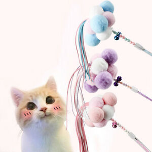 Pet-Cat-Toys-Teaser-Wand-Toy-Stick-Feather-Interactive-Play-Funny-Pet-Sup-PL