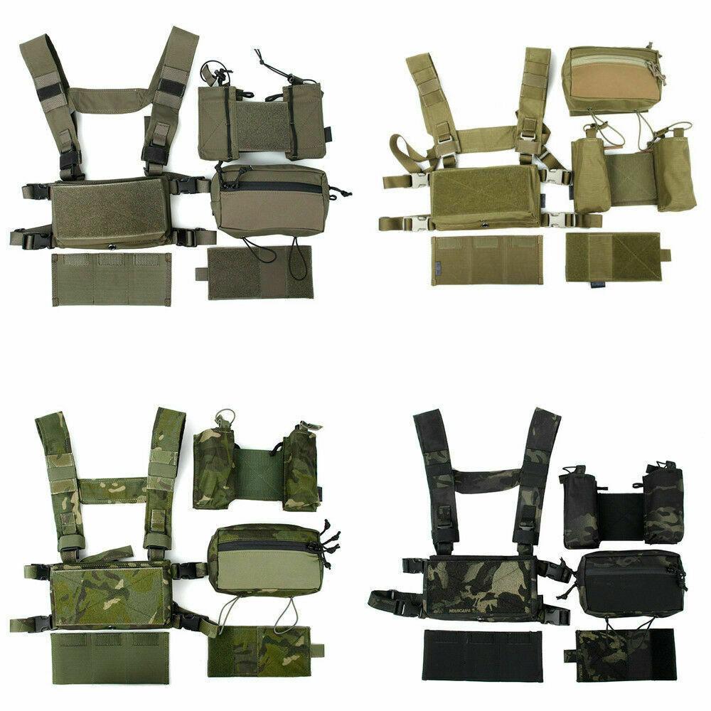 TMC3115 Tactical Combat Lightweight Modular Chest Rig Training Vest Rig Set