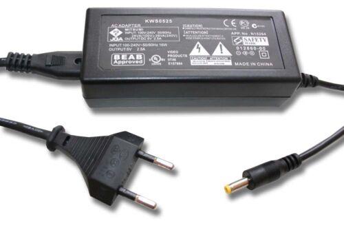 original vhbw® Netzteil Adapter für Panasonic HDC-HS60PU HDC-HS60S HDC-HS60SG