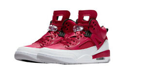 timeless design 240c8 5f976 Image is loading Jordan-Spizike-Gym-Red-Black-White-Wolf-Grey-
