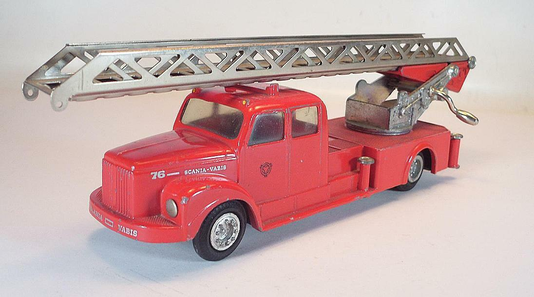 excelentes precios Tekno Denmark nº 445 scania vabis 96 jefe jefe jefe de bomberos auto nº 1  5105  gran descuento