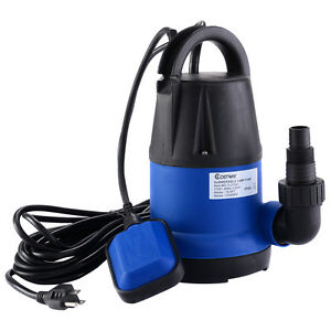 Costway 1 3hp 1320gph submersible clean water pump for Best rated pond pumps