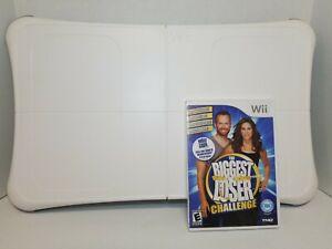 Wii Fit Balance Board Nintendo Fitness Board RVL-021 Biggest Loser Wii Fit Plus
