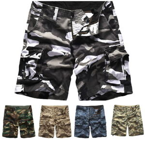 Mens-Army-Military-Tactical-Cargo-Shorts-Outdoor-Work-MultiPockets-Casual-Shorts