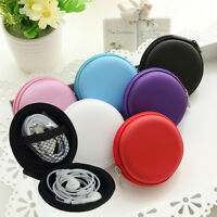 New Hard Hold Case Storage Carrying Bag for Earphone Headphone Earbuds SD Card