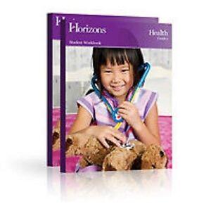 ... Homeschooling HEALTH Student Book 1 1st Grade Set + TEACHERS Guide