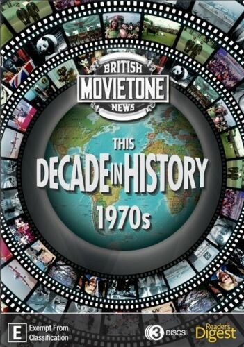 1 of 1 - THIS DECADE IN HISTORY - THE 1970'S..3 DISC BOX SET...REG 4...NEW & SEALED