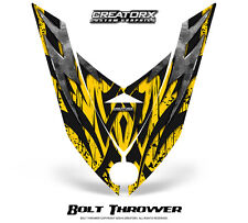 SKI-DOO REV XP SNOWMOBILE HOOD GRAPHICS KIT CREATORX DECALS BOLT THROWER Y