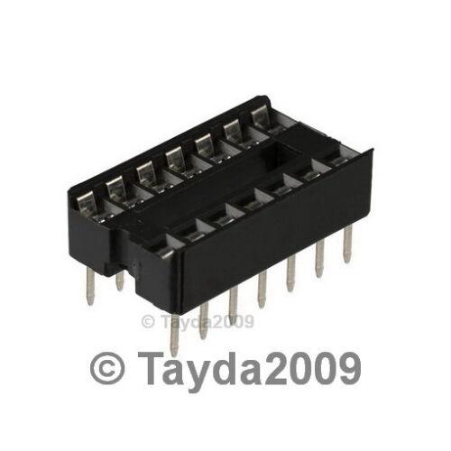50 x 14 pin DIP IC Sockets Adaptor Solder Type