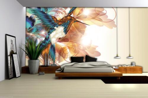Papier Peint papiers peints photos papier peint Oiseau Art Oranment coloré photo 14n423p4