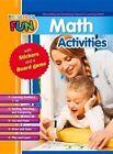 Preschool Fun - Math Activities by Popular Book Company (Paperback / softback, 2015)
