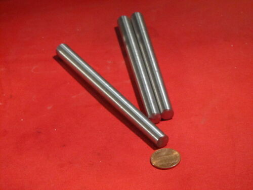 """Steel Taper Pins No 8 .492 Large End x .367 Small End x 6.0/"""" Long 3 Pcs"""