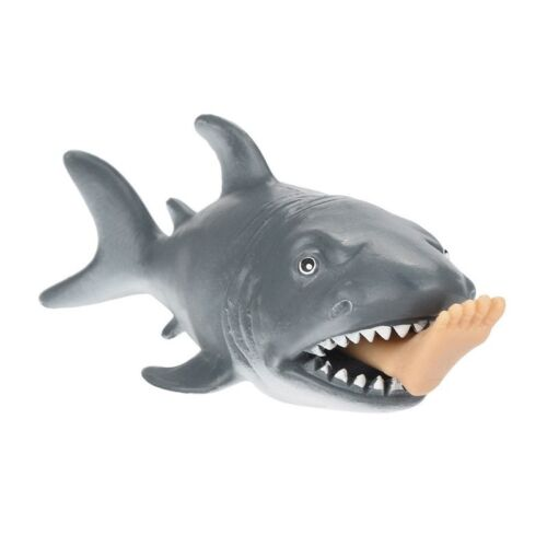 Requin Squeeze Stress Ball Alternative Humoristique Léger Jouet Coeur 12cm T5I