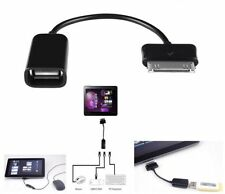 Samsung Galaxy Tab10.1 Tablet PC USB Host OTG Cable Adapter 30 Pin to Female