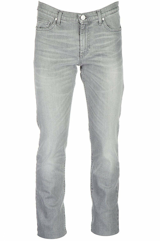 Versace Genuine Designer Branded Men's Slim Fit Grey Jeans A2GQA0S3 QUP500c