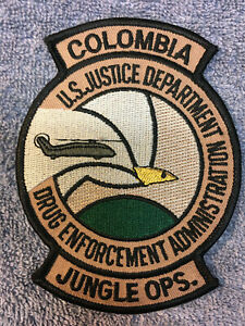 DEA DRUG ENFORCEMENT ADMINISTRATION SPECIAL OPERATIONS TEAM POLICE PATCH