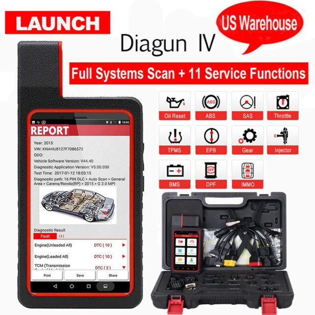 Launch X431 Diagun IV Full Set OBD2 Auto Full System Diagnostic Tool Code  Reader