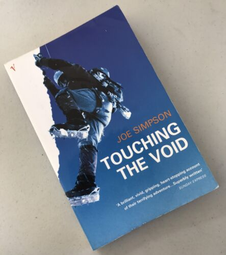 1 of 1 - Touching The Void by Joe Simpson Mountaineering Mountain Climbing