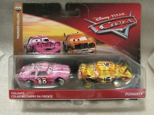 Disney Cars 2-Pack   Thunder Hollow Tailgate /& Pushover  New in Package