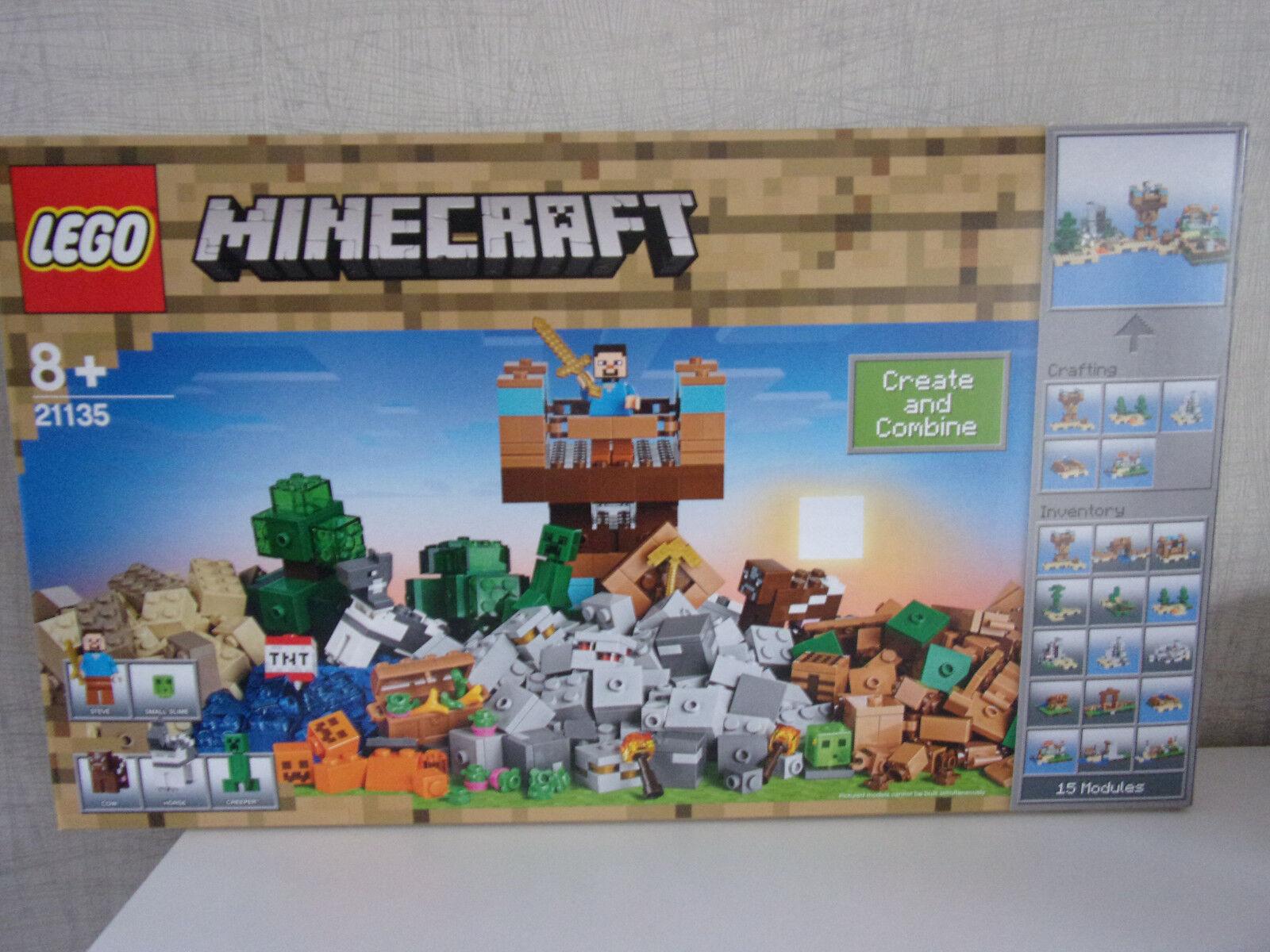 Lego Minecraft 21135 les Crafting-Box 2.0 - NEUF & neuf neuf neuf dans sa boîte 5bc0de