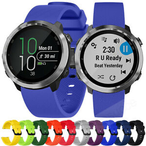 For-Garmin-Forerunner-645-Vivoactive-3-Music-Silicone-Bracelet-Strap-Watch-Band
