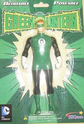 Green Lantern Figure Bendable Poseable DC Comics by NJ Croce New