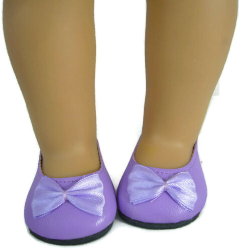 """Doll Clothes fits 18/"""" American Girl Lavender Ballet Flats Shoes"""