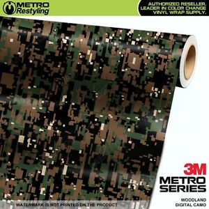 well known new collection buy online Details about DIGITAL WOODLAND Camouflage Vinyl Car Wrap Camo Film Decal  Sheet Roll Adhesive