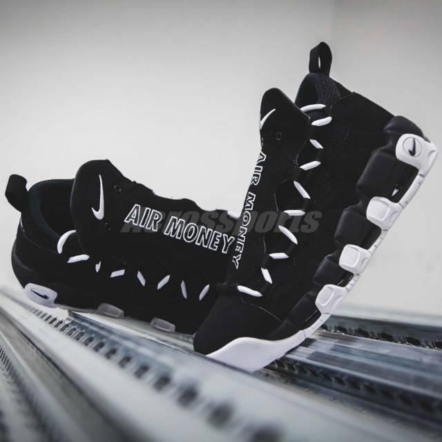 NIKE AIR MORE MONEY Homme BASKETBALL Chaussures SZ 10  [AJ2998-001]