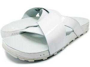 c7ea6b74620b Nike Taupo Slide Sandals Size 5  849756 100 White   White  100
