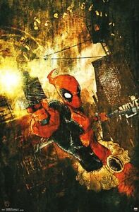 DEADPOOL-SHELLS-COMIC-POSTER-22x34-MARVEL-COMICS-14222