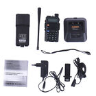 Baofeng UV-5R V2+ Dual-Band 136-174/400-520 MHz Ham Radio Two-Way FM Radio U/VHF