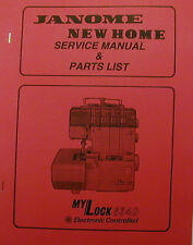 Janome my lock 204d * choice: instructions or service manual.