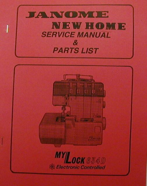 Mylock 634d instruction service / repair manual & partslist | etsy.