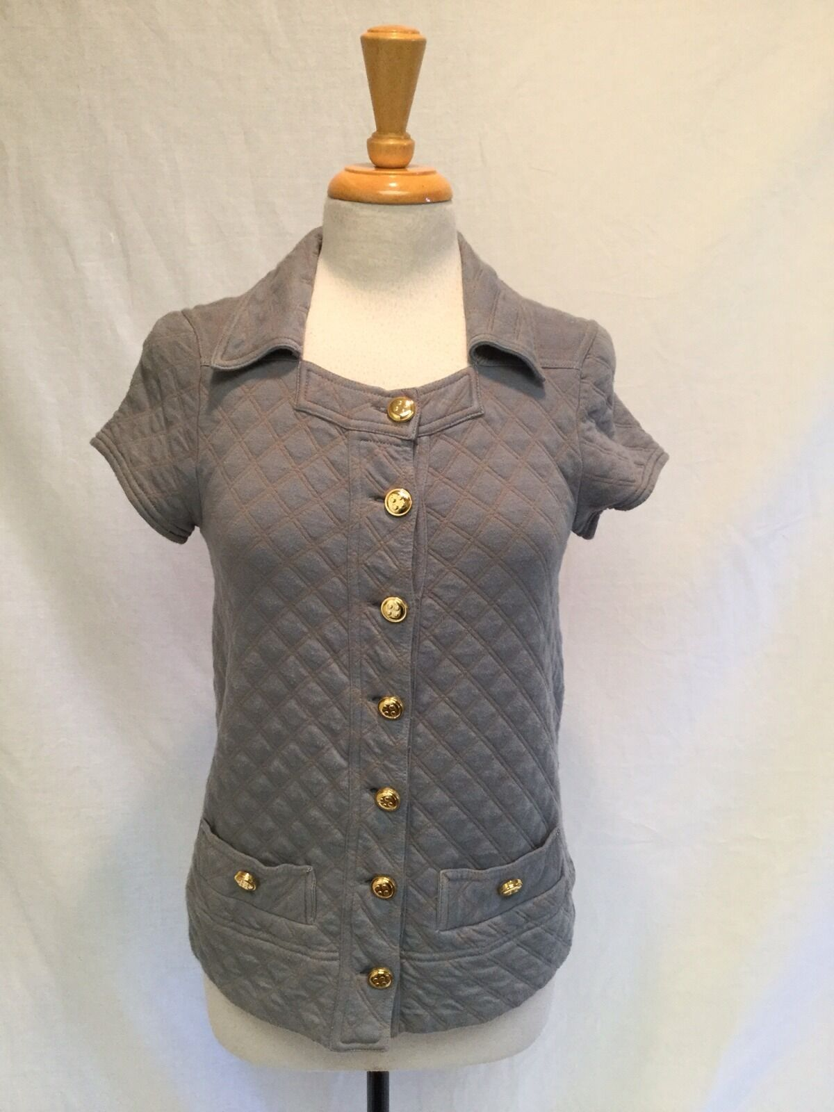 Ladies Marc by Marc Jacobs Quilted Diamond Pattern Vest-Small