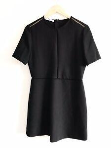 BNWT-MNG-Mango-Little-Black-Dress-Size-M-Size-10-Short-Sleeve-Workwear-Ladies