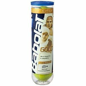 Babolat-Gold-Pet-Performance-Pressure-Tennis-Balls-4-Ball-Can-NEW-2017-Quality