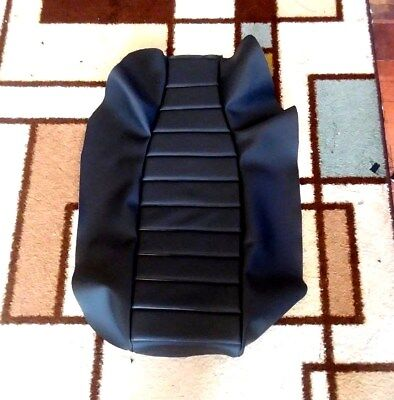 YAMAHA XT600E 1990-94  Black Custom Hand Made Motorcycle Seat Cover