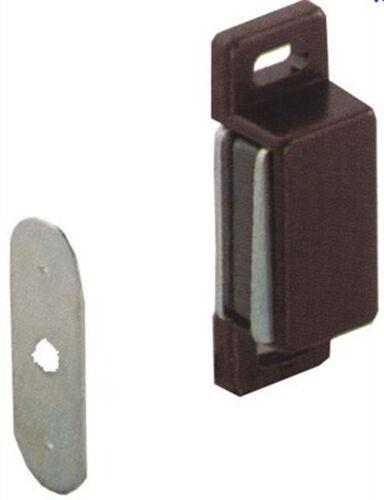Set 2 cricchetti magnetici CALAMITE color marrone per legno cm 8,5 F08