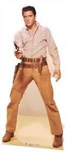 Elvis-Presley-Gunfighter-LIFESIZE-CARDBOARD-CUTOUT-standee-standup-Wild-West